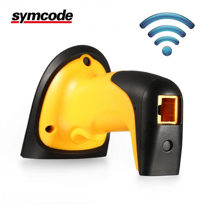 433Mhz Symcode Barcode Scanner / 1D Laser Scanner Long Distance Scan Screen
