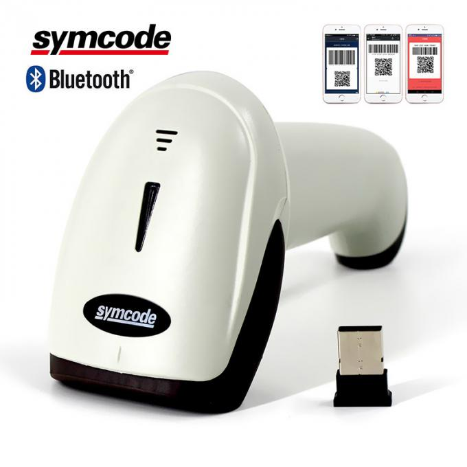 Bluetooth Wireless QR Barcode Scanner Reader Automatic Infrared Activation