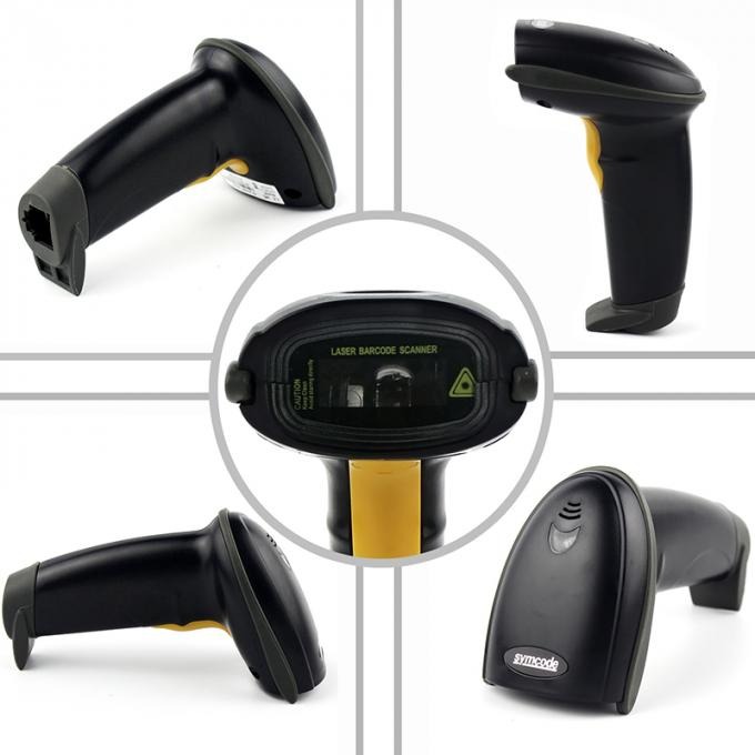 USB RS232 Retail Barcode Scanner Streamline Design High Performance Stand