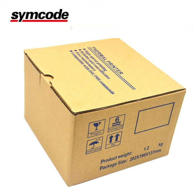 58 Mm High Speed Thermal Receipt Printer With ESC / POS