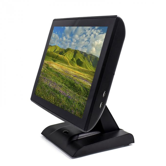 15 Inch POS All In One Touch Screen Low Power Comsumption For Fast Food Restaurant