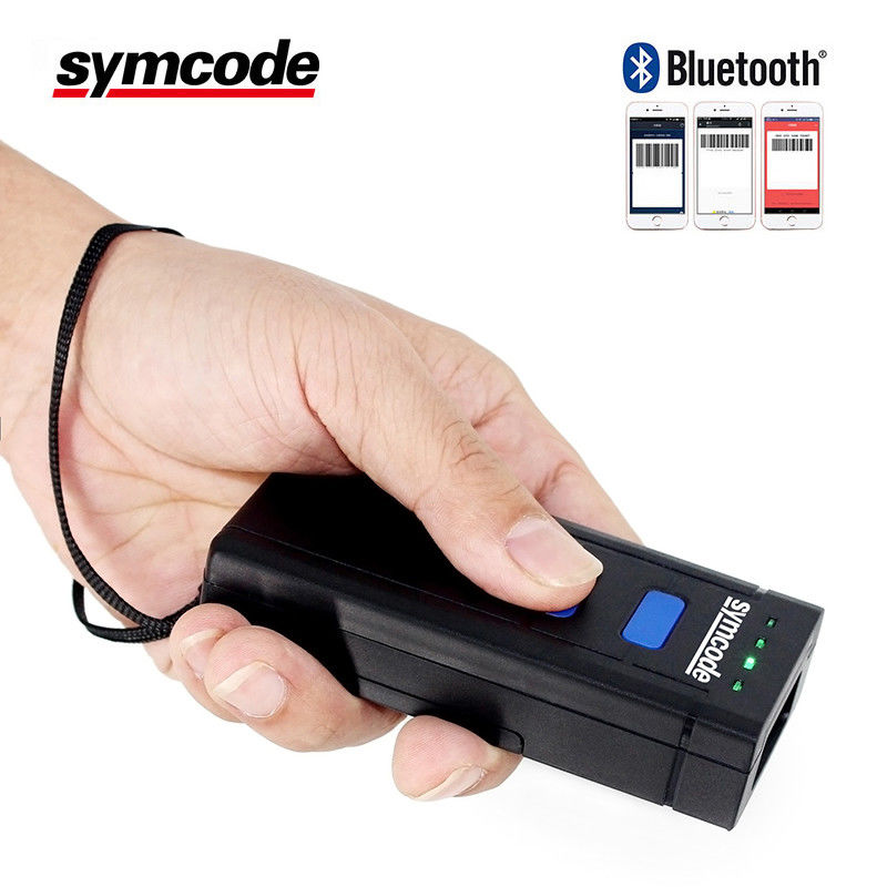 Durable 1D Handheld Barcode Scanner High Sensitive Decoding Robust Design