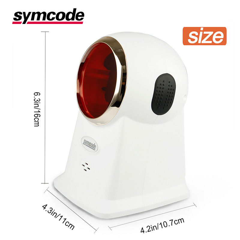 CMOS Desktop Barcode Scanner / Omni Directional Scanner No Need Accurate Positioning