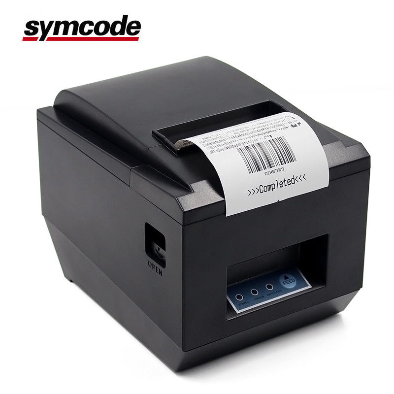 Symcode 80 Mm Receipt Printer / POS Thermal Printer Multi Language For Logistic