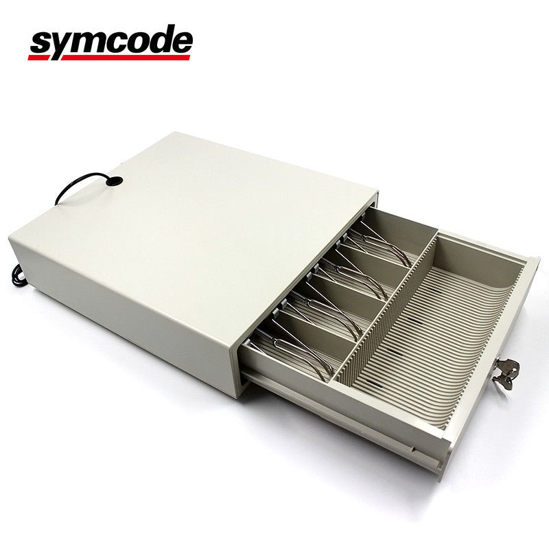 Mini POS Small Cash Drawer USB Stylish Multi Color Metal And ABS Material