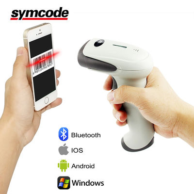 China Multi Function CCD Barcode Scanner / Bluetooth Wireless Scanner Low Power Consumption factory