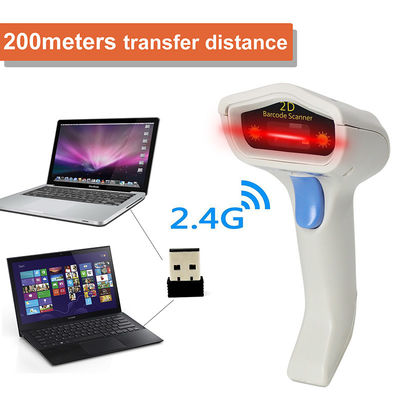 China 2D USB Wired Image Barcode Scanner PC Use Rechargeable Lithium Battery factory