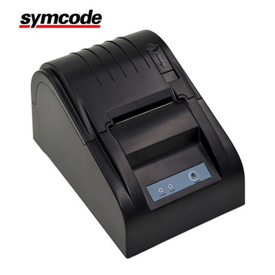 China Low Noise 58mm Thermal Receipt Printer High Speed Printing Support Cash Drawer Driver factory