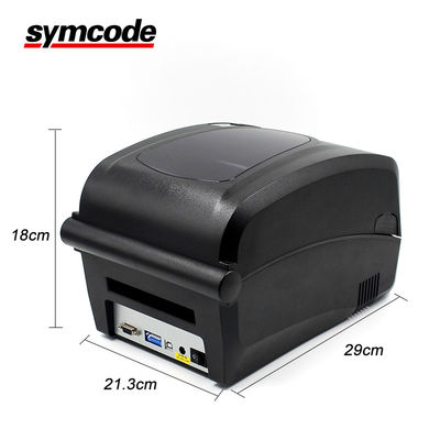 China 24 VDC Label Barcode Printer / QR Sticker Printer RS232 Serial Interfaces factory