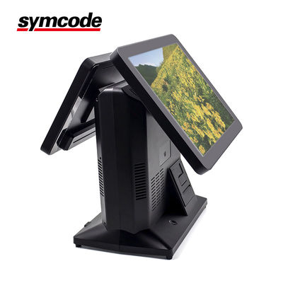 China Two Screen Android POS Terminal Rich Peripherals And High Performance Hardware factory
